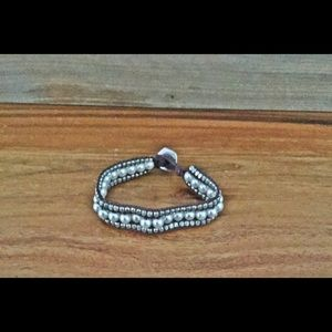 American Eagle Boho pearl/beads bracelet